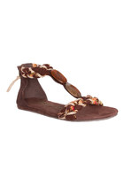 brown linnet Blowfish sandals