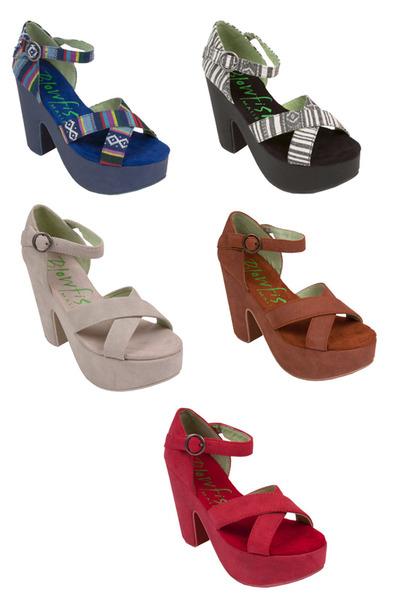 chunky heel Blowfish Shoes heels