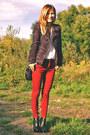 Zara-blazer-h-m-shirt-zara-pants-mango-heels