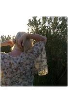 chiffon DIY blouse