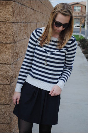 American Eagle sweater - Gap skirt