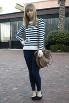 American Eagle sweater - LC pants - asos bag - Forever 21 necklace