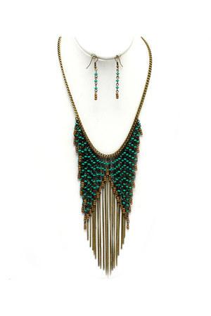 Blue Vanilla necklace