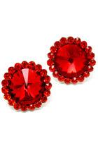 red Blue Vanilla earrings