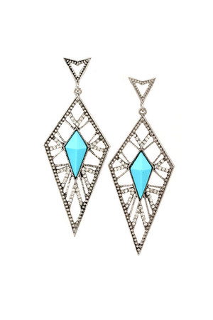 Blue Vanilla earrings