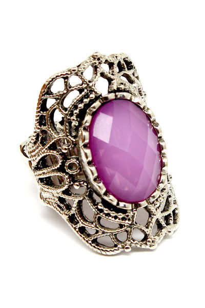 amethyst Blue Vanilla ring