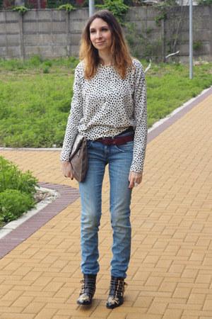 REPLAY jeans - Chlo Susanna boots - Boyy Slash bag - H&M belt - COS top