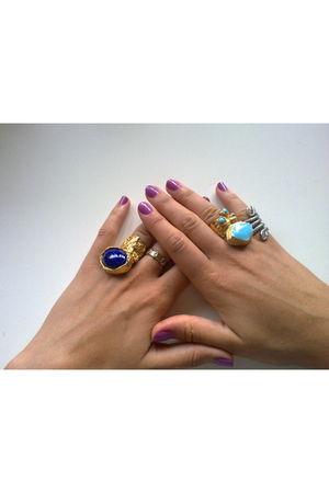 blue YSL accessories - YSL accessories - Low Luv x Erin Wasson accessories - aso