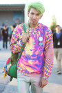 Hot-pink-neon-tiger-mr-gugu-miss-go-sweater