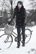 black black Wholesale7 coat - forest green waterproof Palladium boots