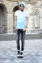 light blue ombre H&M shirt