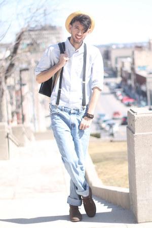 white 501 levis Levis jeans