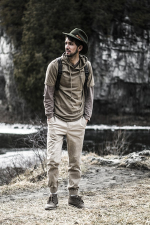 tan joggers Bluenotes pants