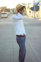 white basic Bobby Raffin shirt