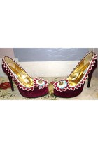 velvet jubilee BOBU shoes