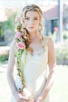 ivory handmade dress