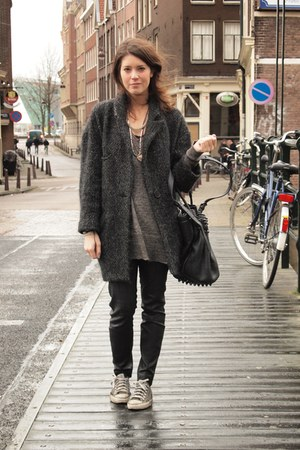 Isabel Marant coat - Alexander Wang bag - COS pants