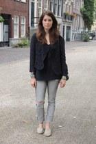 Antik Batik jacket - H&M jeans