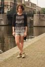 Hakei-boots-etoile-isabel-marant-shirt-h-m-shorts