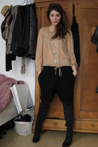 Antik Batik blouse - Zara boots - Zara pants