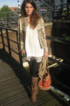 Antik Batik jacket - H&M boots - H&M shorts - Zara blouse