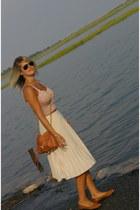 pins and needles top - Rebecca Minkoff bag - vintage skirt - Michael Kors watch