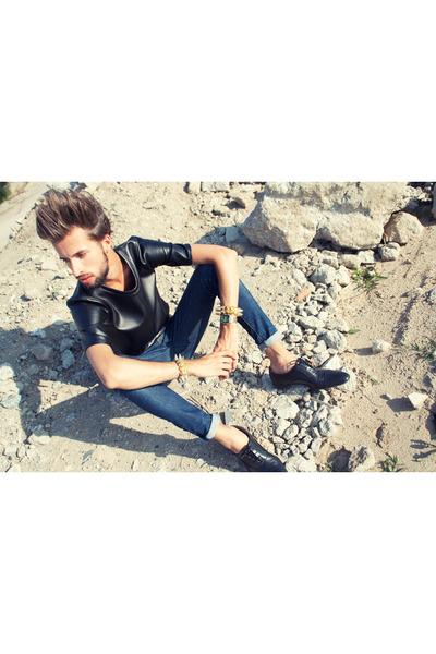 Zara shoes - H&M jeans - Candelas closet bracelet