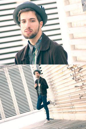 Zara hat - H&M jeans - Zara jacket - Zara shirt