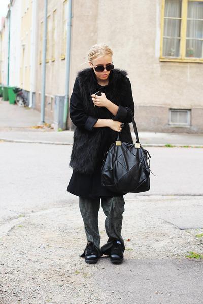 black ALL CLOTHING INFO ON MY BLOG coat