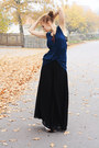 Black-gina-tricot-pants-navy-awesome-back-weekday-top