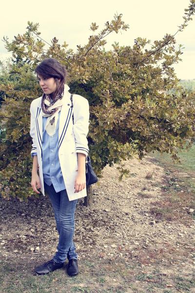 Emmaus blazer - shoes - Emmaus accessories - Fripe shirt