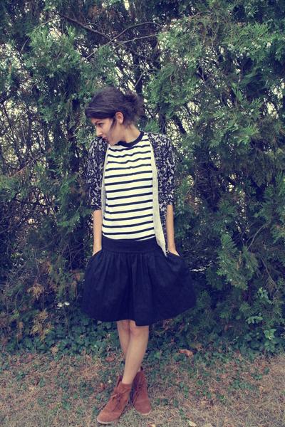 Zara skirt - San Marine boots