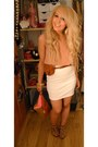 Bubble-gum-primark-bag-brown-new-look-heels-tan-vintage-top-brown-primark-