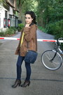 Brown-diana-boots-dark-brown-zara-jacket-navy-zara-purse-yellow-floral-pri