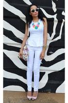 Woolworths jeans - peplum Mr Price top - SASS DIVA accessories