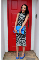 Topshop dress - Woolworths heels