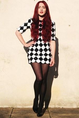Glamorous dress - patent H&M heels