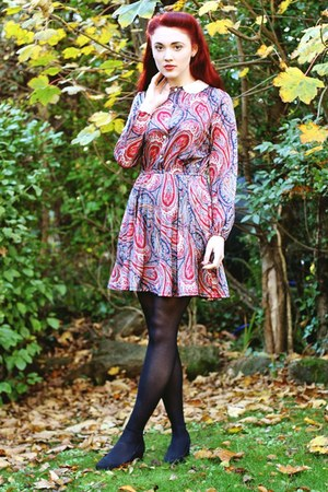 vintage paisley House of Jam  ASOS Marketplace dress