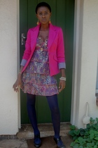 Sissy Boy dress - identity jacket - SASS DIVA accessories - Aldo shoes - Edgars