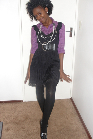 YDE dress - meltz stockings - marion hall shoes - Princess shirt - Woolworths be