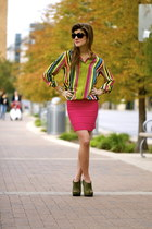 Hot Pink & Stripes