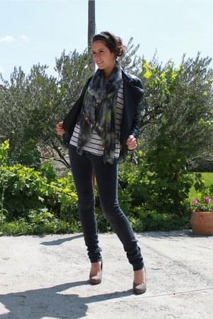Pimkie blazer - Le temps des cerises jeans - Zara top