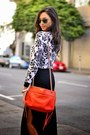 White-cropped-asos-sweater-carrot-orange-rebecca-minkoff-bag
