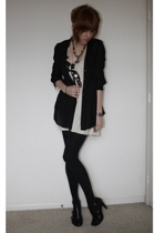Nine West shoes - Silence  Noise dress - vintage necklace - surface to air neckl