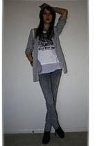 rag & bone shirt - South Dakota shirt - Mango jeans - Nine West boots - forever