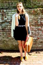 mamas bag - H&M skirt - Bandolino sandals - thrifted top