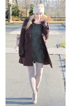asos dress - asos shoes - Barneys COOP coat