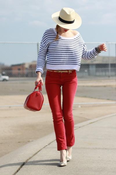 Rich & Skinny jeans - Modern Vintage shoes - H&M hat - H&M top