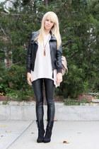 Michael Kors pants - Zara jacket - H&M sweater