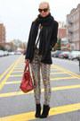 Zara-boots-balenciaga-bag-zara-pants
